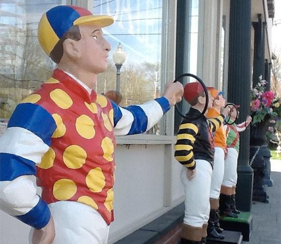 Lawn Jockey Gallery