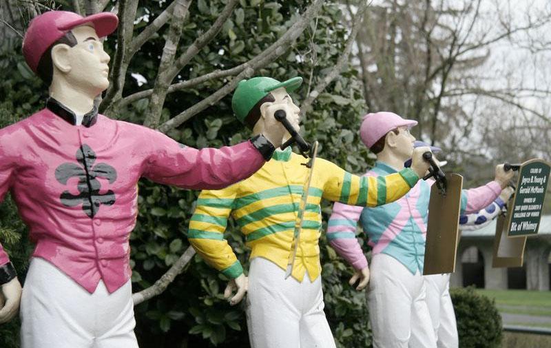 Lawn Jockeys