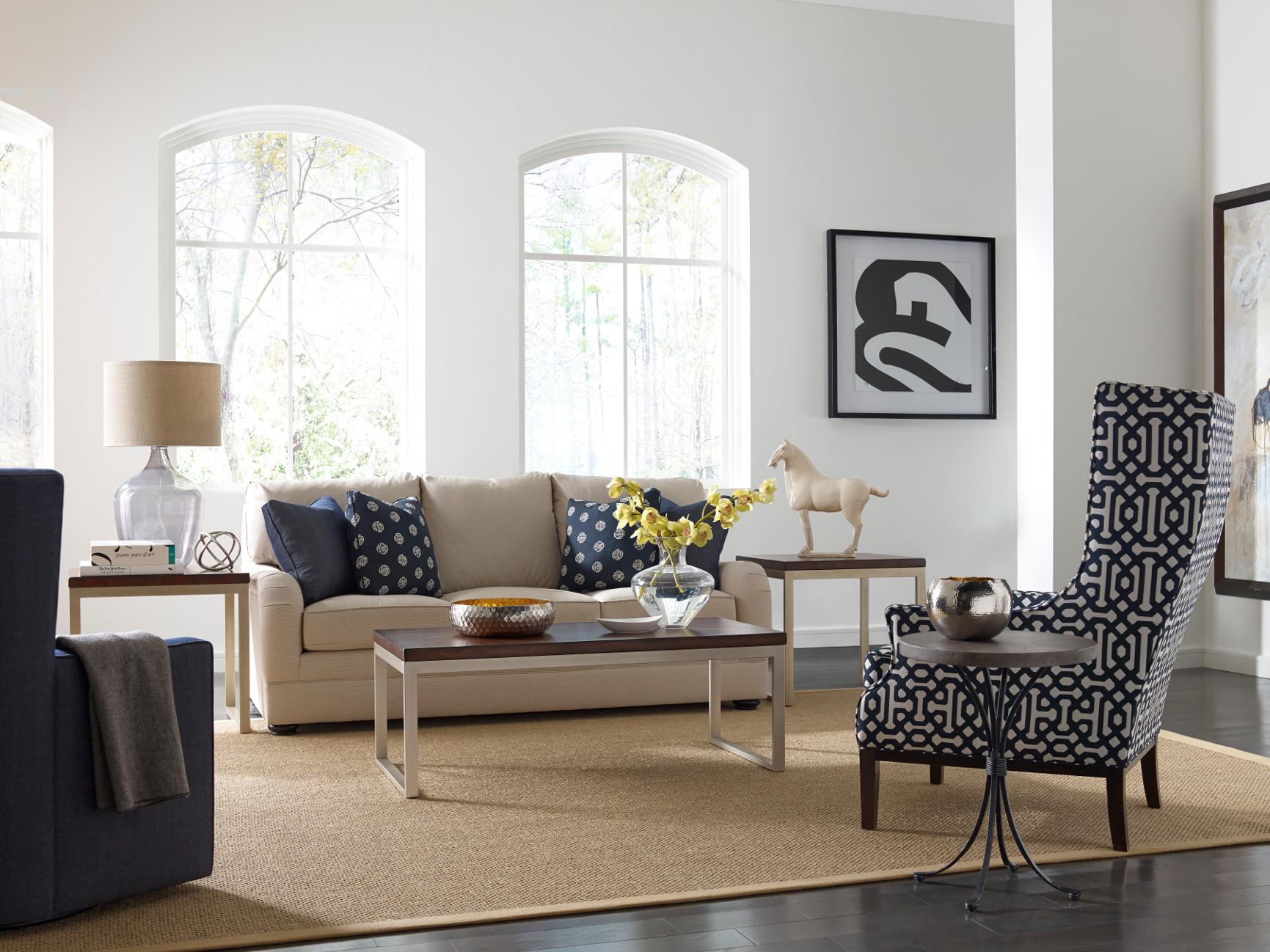 Bold & Bluetiful Saratoga Signature Furniture and Interiors
