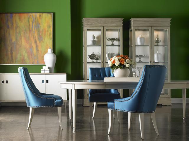 Photograph Courtesy of Sherrill. Furniture available at Saratoga Signature Interiors.