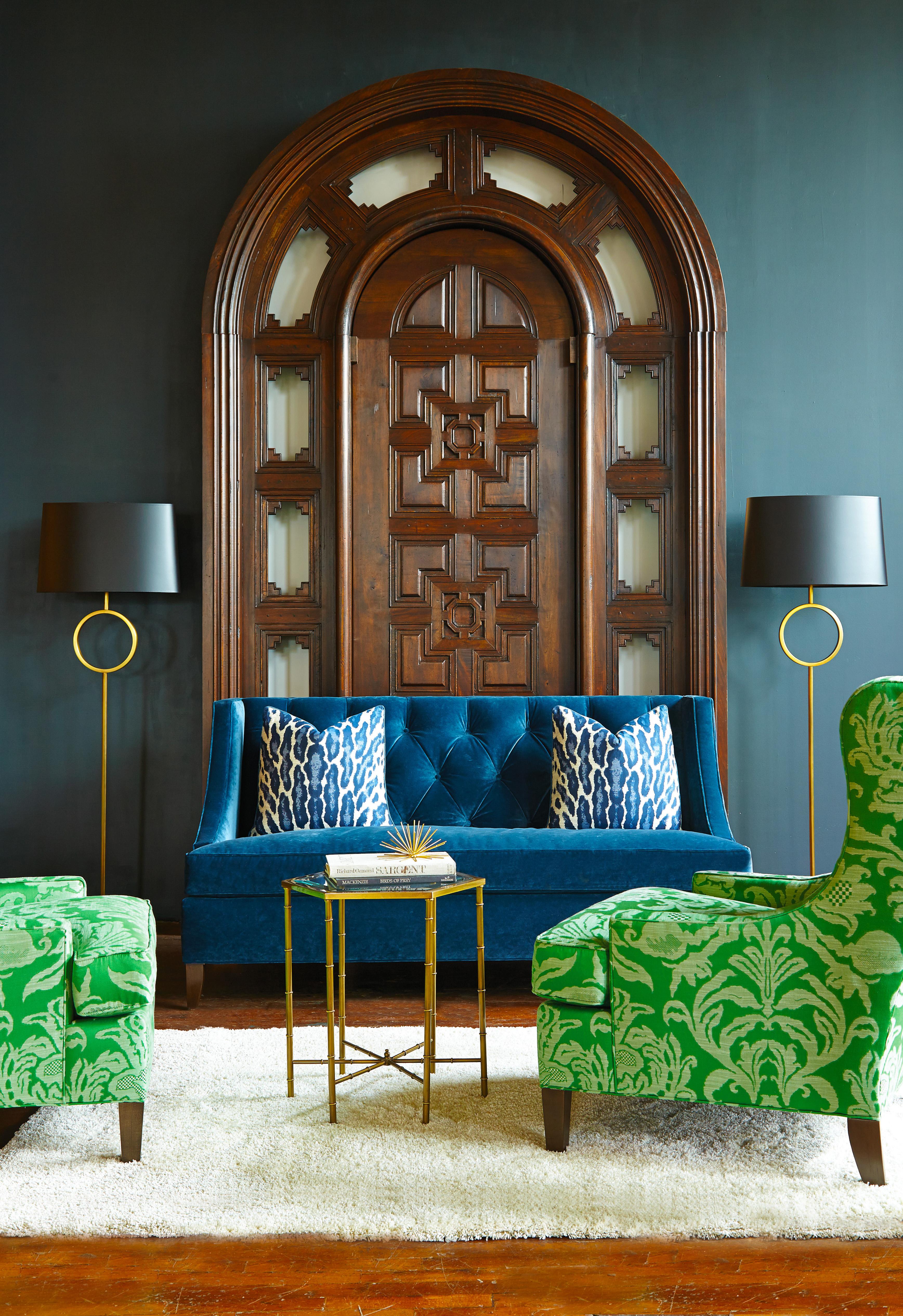 Photograph Courtesy Of Huntington House. Fabric And Furniture Available At  Saratoga Signature Interiors.