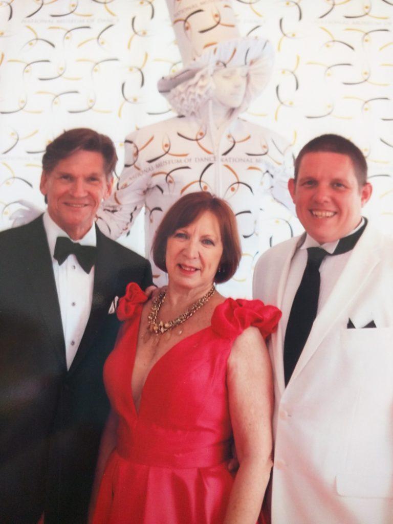 Nancy Smith, Daniel Czech, and Colby Smith strike a pose!